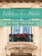 Letters from Paris by Juliet Blackwell (2016, MP3 CD, Unabridged)