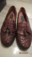 Giorgio Brutini Men's Tassel Loafers, Medium Brown Size 8.5M New