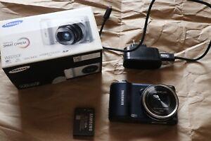Samsung WB250F Smart Wi-Fi Digital Camera Blue