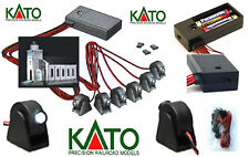 KATO C2 KIT # 6 SPOT Adjustable LED 3V WHITE LOCOMOTIVE WAGONS DIORAMAS SCALE