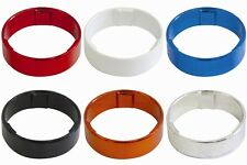 """One23 Alloy 1 1/8"""" Bike Headset Spacer Size & Colour Choice Smooth Finish"""