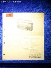 Sony Service Manual CFS 65S Cassetten Rekorder (#0090)