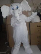 New Arrival Professional White Elephant Mascot Costume Adult Size Fancy Dress