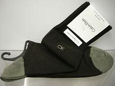 Calza uomo calzini socks man CK CALVIN KLEIN a.ECB105 t.u 40/46 c.522 chocolate