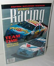 NASCAR Beckett May 1996 Issue #21 Mark Martin Ted Musgrave Team Racing