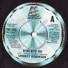 "Smokey Robinson - Being With You / What's In Your Life For Me 7"" Single 1981"