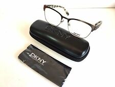New Dkny Eyeglasses DY5652 1231 Gunmetal Authentic With Original Case And Tags