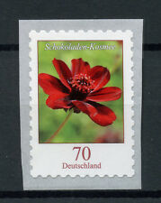 Germany 2018 MNH Flowers Definitives Chocolate Cosmee 1v S/A Set Flora Stamps