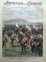 La Domenica del Corriere 8 Maggio 1904 Valanga Pragelato Loubet Malta Macedonia