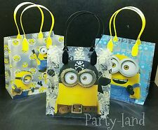 24 Despicable Me Minions LOOT/GOODY BAGS Birthday Child Multi-color