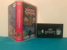 The muppets christmas carol   VHS & clamshell case  FRENCH