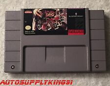 BOXING LEGENDS OF THE RING (Super Nintendo SNES, 1993) Game Mint 100% Tested