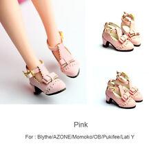 princess shoes_Pink for Blythe / DAL / Pullip / Momoko/ Lati_y/Pukifee