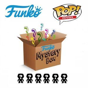 Funko Pop Mystery Box Caja Sorpresa 6 Figuras POP Movies Peliculas Aleatorias
