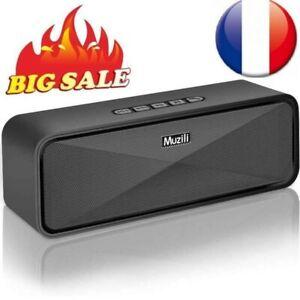 Enceinte Bluetooth Haut-parleur Sans Fil Portable Radio Musique Son Audio Baffle