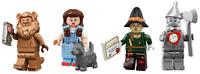 LEGO Movie 2 Wizard of Oz Minifigs SEALED! Dorothy Tin Man Lion Scarecrow 71023