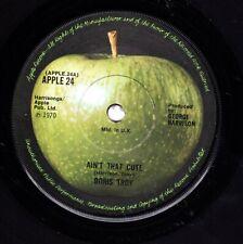 "Beatles (Doris Troy) ""Ain't That Cute"" 1970 UK Apple Solid Center Stock Copy 45"