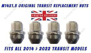 Wheel Nuts Fits Ford transit 2013 > 2022 Alloy M14x1.5 Original Replacement Nuts