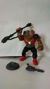 Figurine BEBOP, TORTUES NINJA,Mirage studios,Playmates Toys,1988 + 3 accessoires