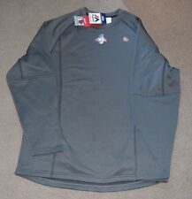 NWT 2015 World Series Therma Base Pullover Thermal Royals Mets Majestic On Field