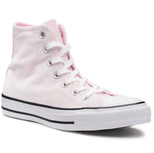 Women's Converse Velvet Chuck Taylor Pink All Star High Top Sneakers Size 5