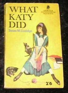 What Katy Did by Susan M Coolidge