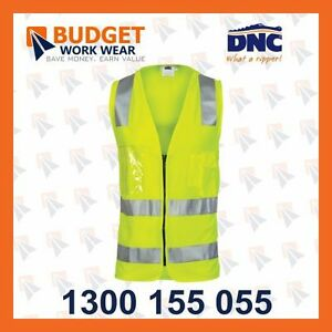 DNC Day/Night Side Panel Safety Vest with Generic R/Tape (3507 )
