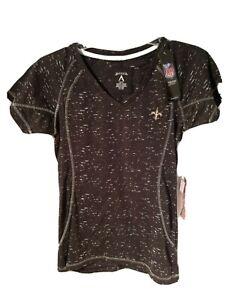 Women's Antigua Sports New Orleans Saints Shirt Top Sz S/P