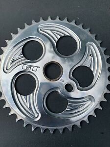 GT Speed Series Overdrive Polished Sprocket 41t Old School BMX Chainring