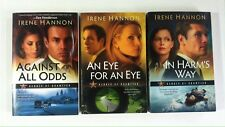 Lot 3 Heroes of Quantico #1 2 3 (PB) Irene Hannon Against All Odds An Eye for an
