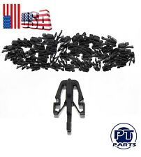 50 PCS For GMC Canyon Colorado Grille Retainer Clips Black Plastic B09250715