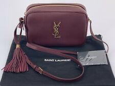 Neu Luxury Original SAINT LAURENT YSL Damen Tasche Bag Leder  -612542