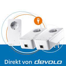 devolo Magic 2 LAN, 3 Powerline Adapter, Internet aus der Steckdose, 2400 Mbps