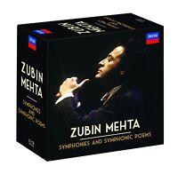 ZUBIN MEHTA: SINFONIEN & TONDICHTUNGEN 23 CD NEU TSCHAIKOWSKY/MAHLER/BEETHOVEN