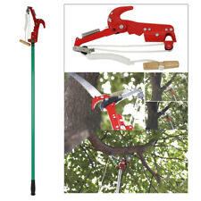 2.6M Telescopic Extendable High Reach Garden Tree Saw Branch Pruner Cut Lopper