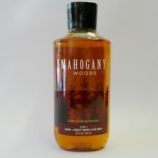 1 X Mahogany Woods Bath & Body Works 2-in-1 Hair Body Wash For Men C97-
