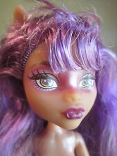 Monster High Clawdeen Wolf  Haunted Getting Ghostly NUDE