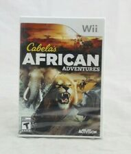 Cabela's African Adventures Nintendo Wii Brand New Factory Sealed