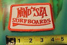 Wind An Sea Surfboards La Jolla Ca Vintage Skip Frye Rare Original Surfing Patch