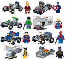 Unbranded Multi-Coloured Super Heroes Building Toys