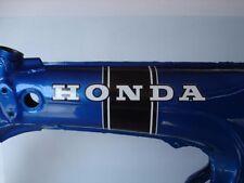 Honda Ct70 Ko 2pc. Black Stripe Main Frame Decal Set 69-71 Mfg 2nds