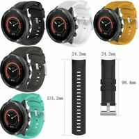 Replace Gel Watch Wrist Sports Band Strap For SUUNTO 9 Multisport GPS Wristband