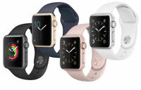 Apple Watch Series 1 Aluminum 38MM - Silver Space Gray Rose Gold  | Excellent