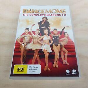 DANCE MOMS Complete Seasons 1 & 2 (2014) DVD Inc Bonus Features (Tracked Post)