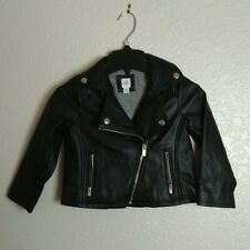 Gap baby Toddler Faux Leather Moto Jacket Sz 4t
