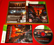RESIDENT EVIL OPERATION RACCOON CITY XBOX 360 Versione Italiana○ COMPLETO - FG
