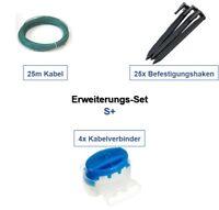 Erweiterung Set S+ Gardena R50Li R70Li R75Li Kabel Haken Verbinder Paket Kit
