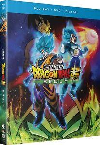Dragon Ball Super Broly Blu-ray (2020) SEALED REGION A