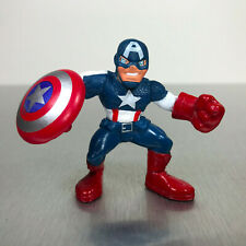 Marvel Super Hero Squad CAPTAIN AMERICA figure movie version w/red boots gloves