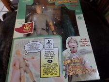 ~ Steve Irwin - TALKING ACTION FIGURE DOLL & CROC 9""
